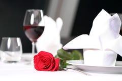 Dîner romantique images libres de droits