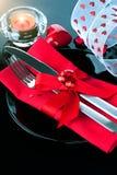 Dîner romantique de Saint-Valentin image libre de droits