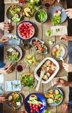 Dîner végétarien Image stock