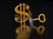 Dólar Imagens de Stock Royalty Free