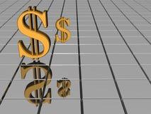 Dólar. Imagens de Stock Royalty Free