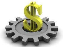 Dólar. Imagem de Stock