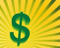 dólar 3D Imagens de Stock Royalty Free