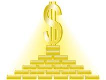 Dólar ilustração stock