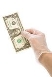 Dólar foto de archivo
