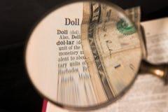 Dólar Fotos de archivo