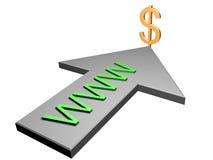 Dólar Fotografia de Stock Royalty Free