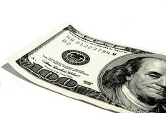Dólar americano Imágenes de archivo libres de regalías