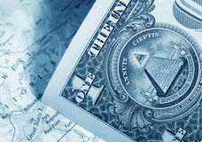 Dólar americano Imagem de Stock