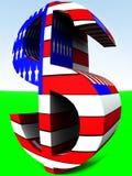 Dólar americano 9 Fotos de archivo