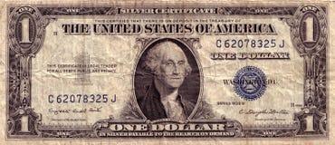 Dólar americano de la vendimia imagen de archivo