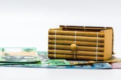 Dólar australiano fotografía de archivo libre de regalías