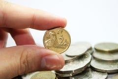 Dólar australiano Foto de Stock