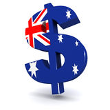 Dólar australiano Fotos de Stock Royalty Free
