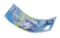 Dólar Bill del australiano diez Imagen de archivo
