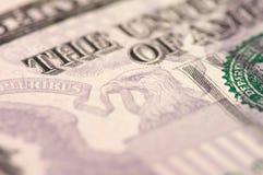 Dólar Bill del extracto cinco Fotografía de archivo