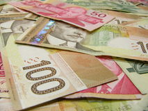 Dólar canadiano Foto de Stock