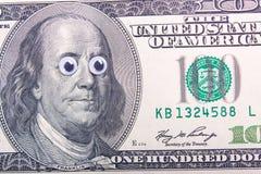 Dólar com olhos grandes Fotografia de Stock