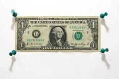 Dólar Crucified Fotos de Stock Royalty Free