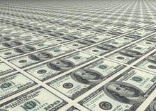 Dólar, dólar y dólar Foto de archivo libre de regalías