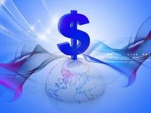 dólar 3D libre illustration