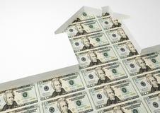 Dólar da casa Fotografia de Stock