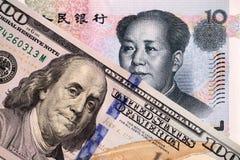 Dólar de EE. UU. y yuan chino