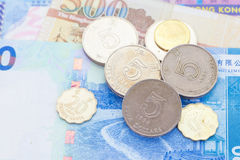 Dólar de Hong Kong Imagens de Stock