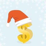 Dólar de la Navidad Fotos de archivo