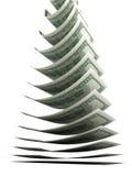 Dólar de queda Imagem de Stock