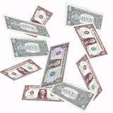 Dólar de queda Foto de Stock Royalty Free