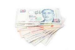 Dólar de Singapur fotos de archivo