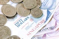 Dólar de Singapur fotografía de archivo libre de regalías