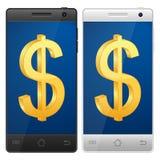 Dólar de Smartphone libre illustration