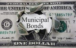 Dólar del enlace municipal imágenes de archivo libres de regalías