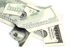 Dólar desigual Fotos de archivo libres de regalías