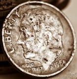 Dólar 1968 dos EUA Fotos de Stock Royalty Free