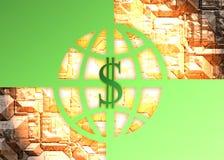 Dólar elevado Foto de Stock Royalty Free