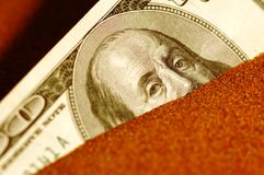 Dólar en apuro fotos de archivo