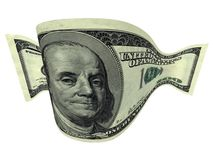 Dólar estirado Fotos de archivo libres de regalías