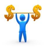 Dólar forte Fotos de Stock