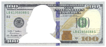Dólar Franklin Foto de Stock Royalty Free