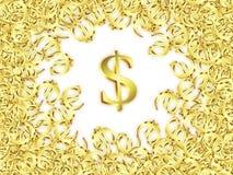 Dólar grande Fotografía de archivo libre de regalías