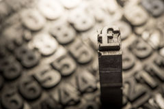 Dólar, libra, muestra del intercambio de moneda foto de archivo libre de regalías