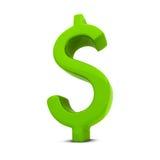 Dólar muestra Fotografía de archivo libre de regalías