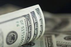 Dólar notas Imagen de archivo libre de regalías