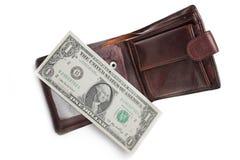Dólar pasado Imagenes de archivo