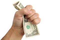 Dólar pasado Foto de archivo
