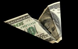Dólar plane6 fotografia de stock royalty free