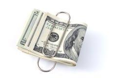 Dólar que encoge Imágenes de archivo libres de regalías